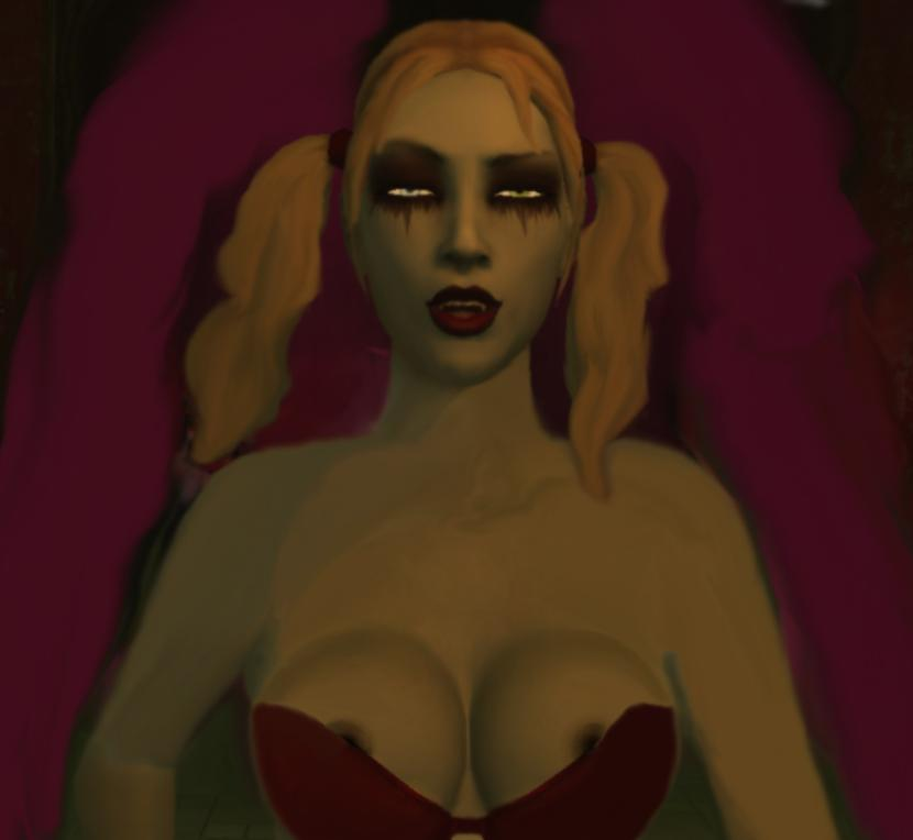 vampire the bloodlines clothes masquerade Street fighter 4 nude mod