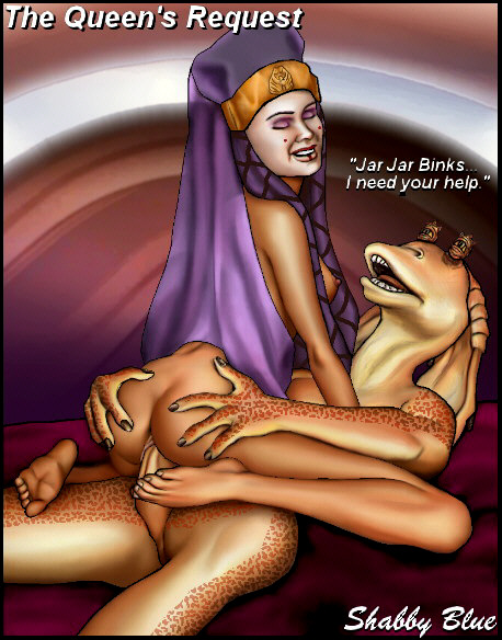 jar queen julia jar binks and She ra and the princesses of power catra