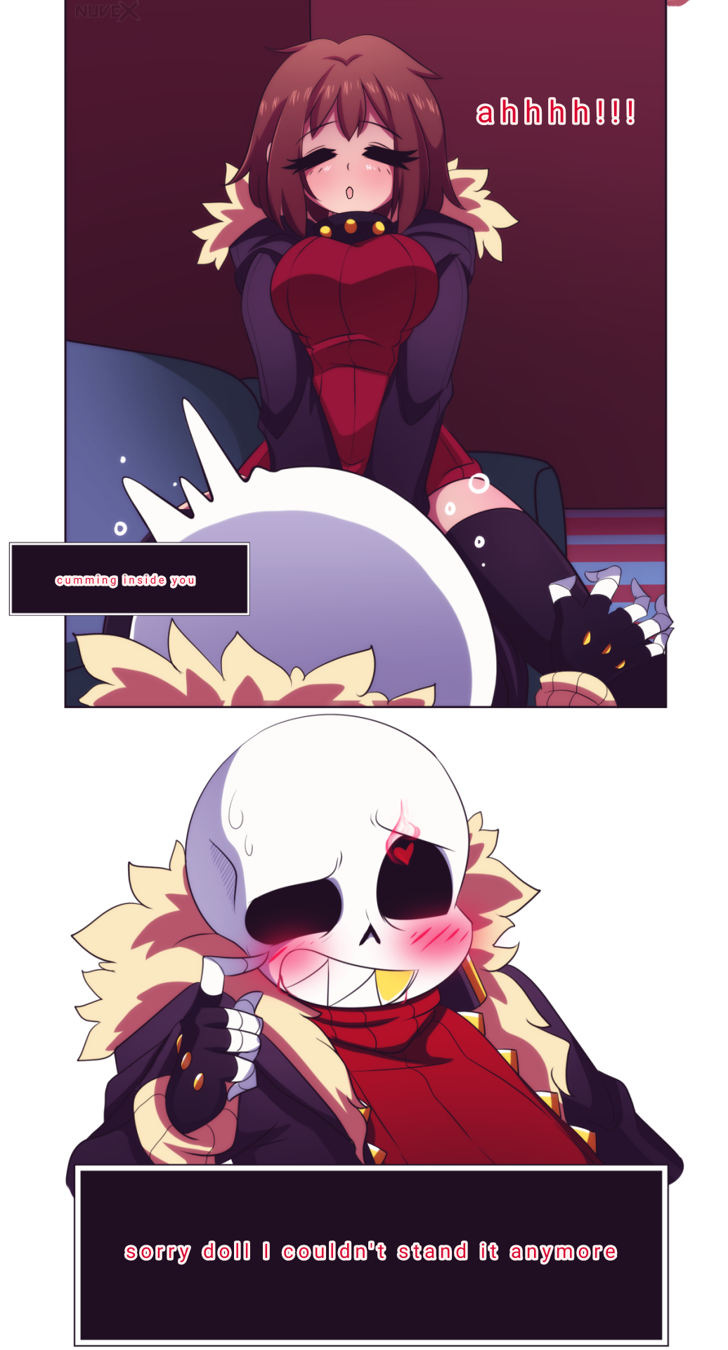 x sans underfell undertale papyrus Bloodstained ritual of the night ectoplasm