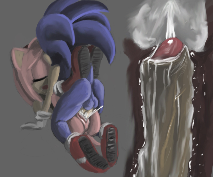1 mecha in sonic sonic Under her tail part 4