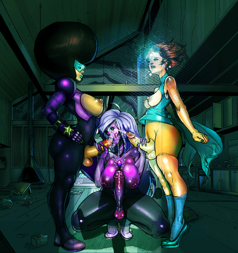 amethyst steven pearl universe and Power rangers mystic force claire
