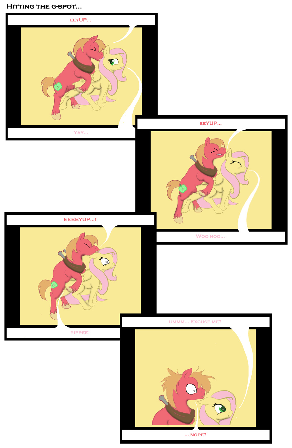 and gif sex mlp big fluttershy mac Fosters home for imaginary friends coco