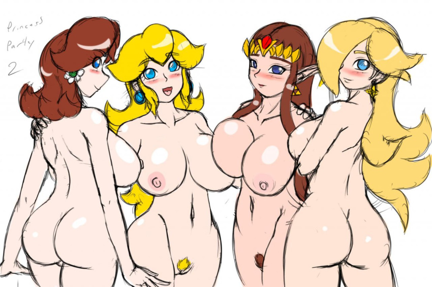 princess peach rosalina and daisy Nude pictures of family guy