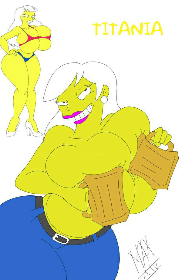 from simpsons naked marge the Franklin the turtle with glasses