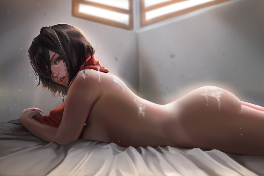 nude on attack mikasa titan The king of fighters porn